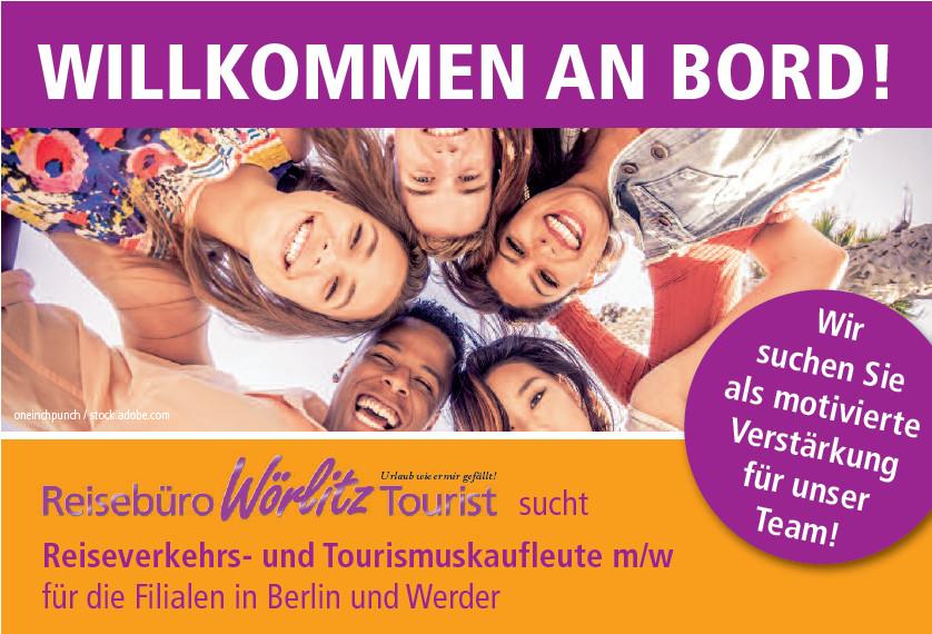 Reiseverkehrs- und Tourismuskaufleute Jobangebot, Reisebüro Wörlitz Tourist