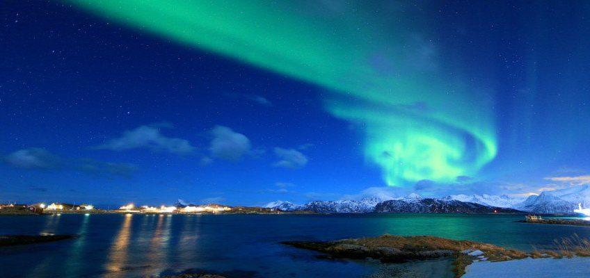 Nordlichter in Tromsoe